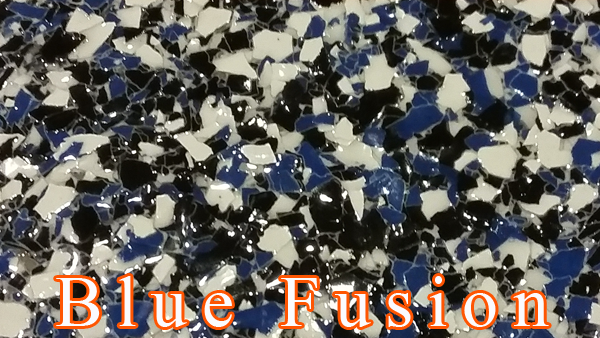Blue Fusion Epoxy Flake system