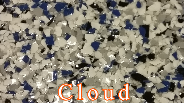 Cloud Epoxy Flake system