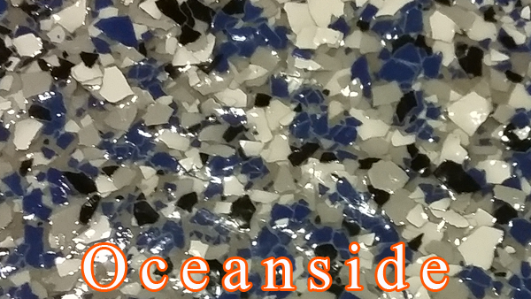 Oceanside Epoxy Flake system