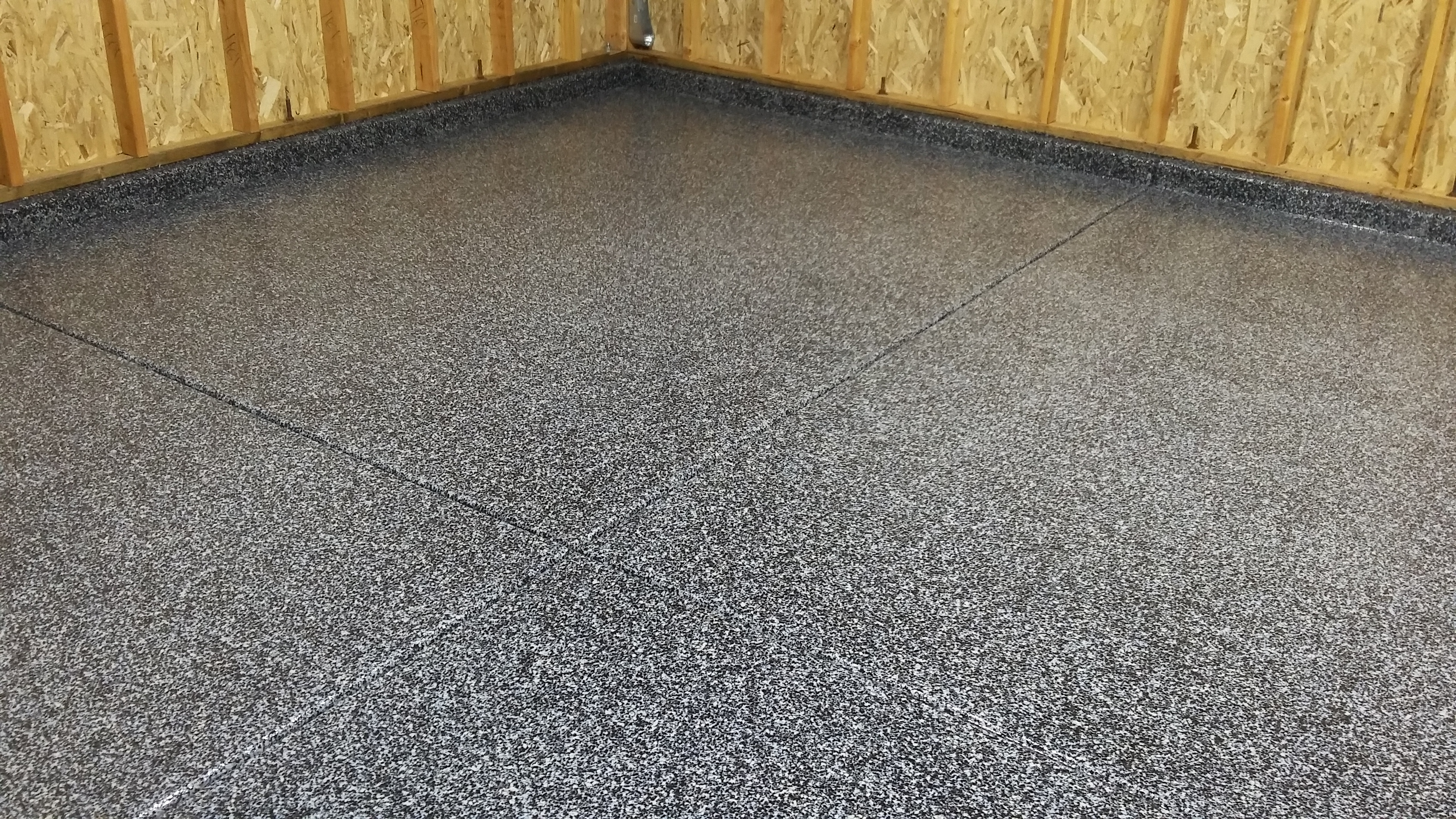 indigo Flake garage floor system ca-resurfacing.com